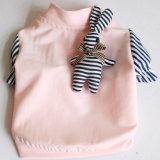 Vêtements sport de chiot de crabot de T-shirt d'animal familier avec le lapin