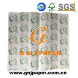 100% Mg Sandwich impresos en blanco del papel de embalaje para el Envasado de Alimentos