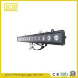 Luz ao ar livre da arruela da parede do diodo emissor de luz para Backgroud ou iluminação da matriz