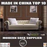 Traction du sofa de cuir de meubles de modèle de boucle pour la salle de séjour