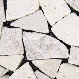 중국 공급자 옥외 맞물리는 마루 자연적인 돌 DIY 석회화 도와
