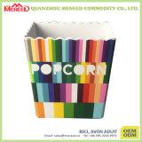Ciotola di plastica personalizzata del popcorn di disegno dell'OEM di uso del buffet