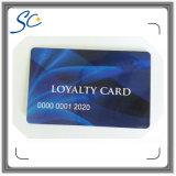 Matte Finish Plastic Cards com número de impressão térmica