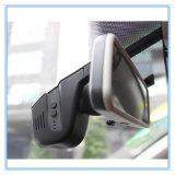 車DVRが付いている完全なHD WiFiのダッシュカム二重レンズ