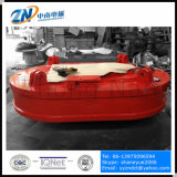 Bobina de formato oval magneto de elevação para a descarga a partir de sucata de aço estreito espaço MW61-300210L/1-75