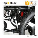 4 Rad-Laufwerk-Form-behinderter abnehmbarer elektrischer Rollstuhl für ältere Personen