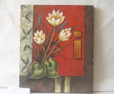 Pinturas de azafrán equipamiento casero de la lona del patrón decorativo