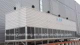 FRP kastenähnlicher geöffneter Kreisläuf-Kostenzähler-Fluss-Kühlturm (YHD-2222kx~2424wz)