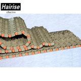 ISO schrägte Rand-modulares Plastikförderband für seitliche Übertragung ab