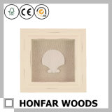 Intelaiatura a scatola profonda di legno della casella di ombra della casella di memoria della decorazione