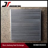 Échangeur de chaleur en aluminium d'ailette de plaque de haute performance