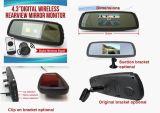 4.3 video automatico dello specchio di retrovisione della visualizzazione dell'affissione a cristalli liquidi dell'automobile di pollice TFT