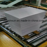 Aluminiumblatt mit dem Film oder dem Papier