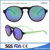 La Dama de Moda Gafas de sol con la Ronda del bastidor de gafas