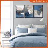 Pintura de pared enmarcada el panel abstracto de la pintura al óleo 3 de la lona del paisaje