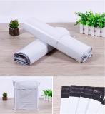 متأمّلة لين لون بيضاء بلاستيكيّة مراسلة حقيبة عالة علامة تجاريّة