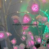 Solartyp Baum-Lichter des Tisch-dekorative hellrote Ahornholz-LED