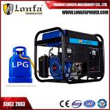 Su uso en casa 3kw/3kVA arranque eléctrico Generador Gasolina Gas Gas Natural para la venta