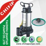 2.0 CV V1500 Pompe souple d'égout d'égout en cuivre