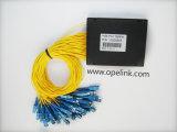 Splitter PLC пластичной коробки радиосвязи 1X64 Gpon для Pon/FTTH/CATV
