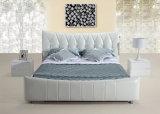 중국 우아한 디자인 나무 골격 현대 가구 침대
