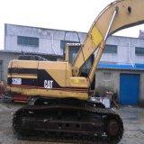 Feito máquina escavadora usada do gato 325b da condição de trabalho da esteira rolante de Hydraulica da lagarta do equipamento da maquinaria de construção dos EUA na boa