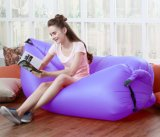 새로운 디자인 Ripstop 나일론 팽창식 공기 소파 슬리핑백 옥외 게으른 Bed