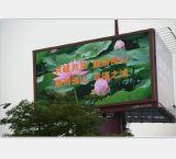 Unipole che si leva in piedi il tabellone per le affissioni P10 esterno del LED Digital per fare pubblicità