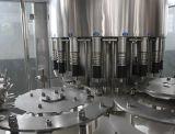 Máquina que capsula de relleno rotatoria y máquina de etiquetado para las botellas plásticas