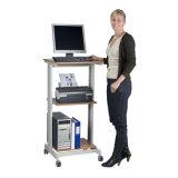 공장 ISO9001 증명서 책상 워크 스테이션을%s 가진 최신 영업소 테이블 모형