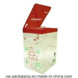 China die Plastic Doos voor de Verpakking van de Blaar van de Gift vouwen