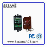 Terminal de transmissão de madeira Controle remoto sem fio 1 interruptor de porta (SWB)