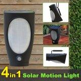La pared de luz solar de múltiples funciones de movimiento de luz LED