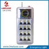 Nachladbares Radiolicht LED-Dringlichkeits-USB-FM
