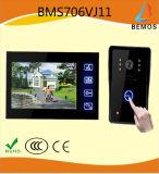 Экран касания дверного звонока телефона двери новой технологии видео- для обеспеченности дома