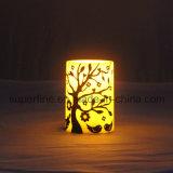 Iglesia de la boda decorativa elegante batería operado imitación parpadeante vela LED