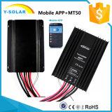 MPPT 20A 12V/24V Epsolar Mobile App+Remote-Mt50 Tracer5210BP контроллер солнечной энергии