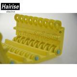 لون صفراء متحمّل مسطّحة بلاستيكيّة [كنفور بلت] لأنّ جعة مصنع جعة