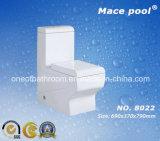 Toletta di un pezzo sanitaria del gabinetto degli articoli della stanza da bagno (8022)