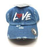 Sombrero gastado del casquillo del baloncesto del amor del buen precio