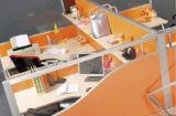 現代家具の入り口のオフィスワークステーション区分