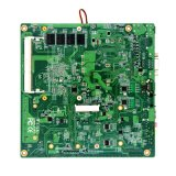 Faisceau 2.4GHz de quarte d'Itx J1900 de carte mère sans ventilateur de Piesia mini avec la mini mini SATA SIM fente de Pcie