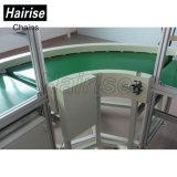 Sistema de transporte de correia reto do PVC do produto comestível do ISO de Hairise
