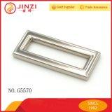 正方形または長方形整形亜鉛合金のスライダのバックル
