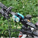 2000lm IP-65 делают 6063 велосипеда алюминиевых сплава СИД/свет водостотьким Bike переднего
