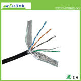 Sólido FTP Cat5e 4 pares cabo LAN cabo de rede