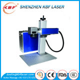 Машина маркировки лазера волокна 20W Jpt голубая портативная для стального крана
