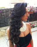 Brasilianische Haar-Karosserien-Wellen-Haar-Extension unverarbeitetes menschliches Hiair Jungfrau-Haar