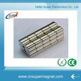 N50強いネオジムアークのNdFeBセグメント磁石