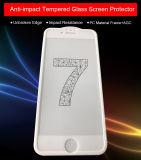 携帯電話のアクセサリの反影響のiPhone 7のための耐震性の緩和されたガラススクリーンの保護装置